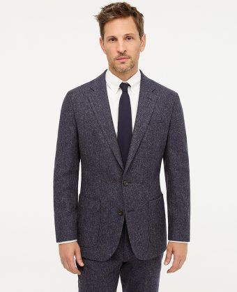 Fit Unstructured Suit Jacket